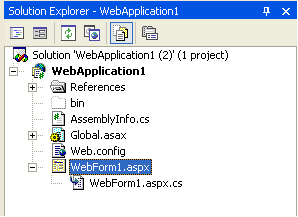 Understanding Code-Behind with VS 2005 Web Application Projects