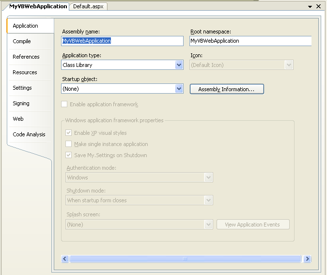 Tutorial 1: Building Your First Web Application Project